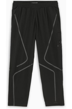 A-cold-wall* Black nylon joggers
