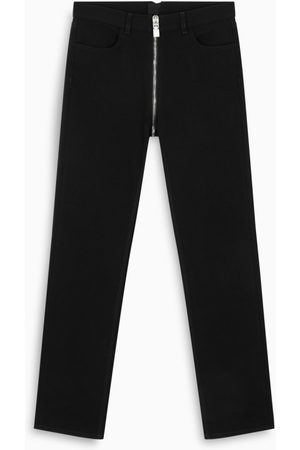 Givenchy Black zip-detail jeans