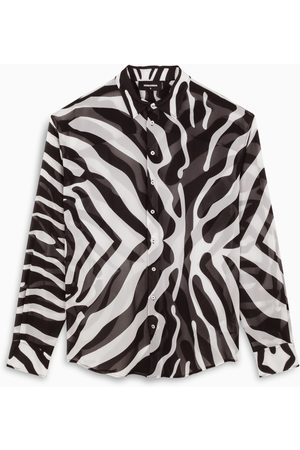 Dsquared2 Zebra-print long shirt