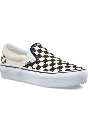 Vans Sneakers - Checkerboard Classic Platform Slip-Ons