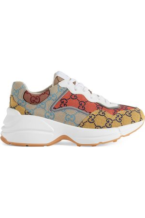 Gucci Damen Sneakers - Rhyton GG Multicolor Damensneaker