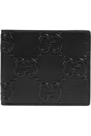 Gucci Herren Slips & Panties - Brieftasche aus geprägtem GG Leder