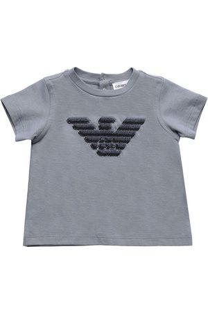 Emporio Armani Mädchen Shirts - T-shirt Aus Baumwolljersey