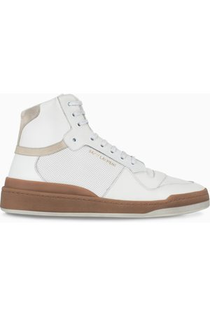 Saint Laurent White SL24 high sneakers