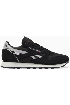 Reebok Black/grey Classic Leather GORE-TEX sneakers