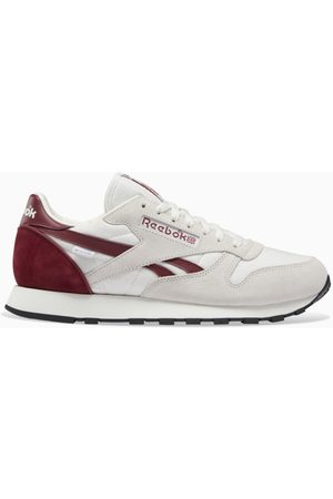 Reebok White/burgundy Classic Leather GORE-TEX sneakers