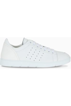 Loewe White soft leather sneakers
