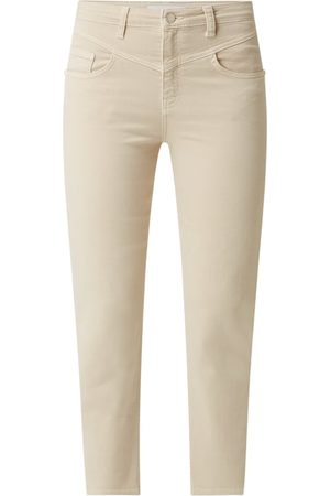 Rich & Royal Cropped Straight Fit Jeans mit Stretch-Anteil