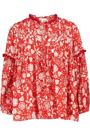 POUPETTE ST BARTH Exklusiv bei Mytheresa – Bedruckte Bluse Clara
