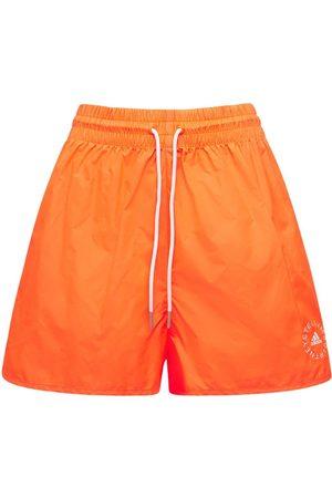 Stella McCartney Damen Shorts - Minikleid Und Shorts Aus Baumwolle Und Technostoff