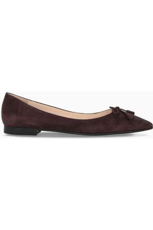 Prada Damen Ballerinas - Dark brown ballerinas