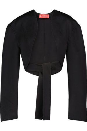 Peter Do Cropped-Jacke aus Schurwolle