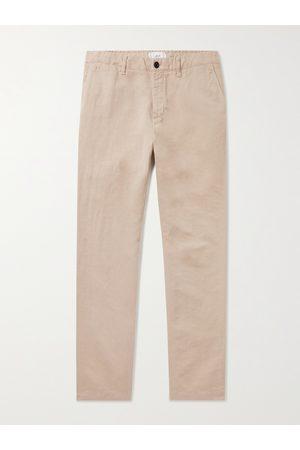 Mr P. Herren Chinos - Cotton and Linen-Blend Chinos