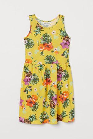 H&M Mädchen Freizeitkleider - Gemustertes Jerseykleid