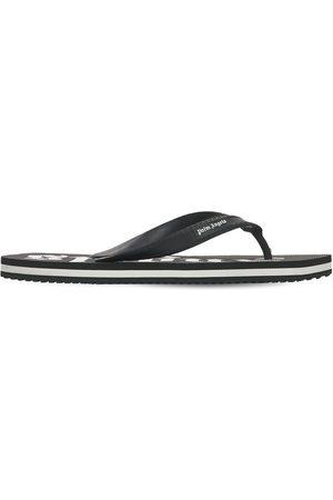 Palm Angels Herren Flip Flops - New Rubber Flip Flops