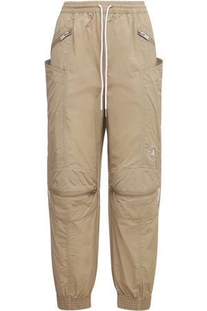 STELLA MCCARTNEY Damen Hosen & Jeans - Oversized Hose Aus Baumwolle Und Technostoff