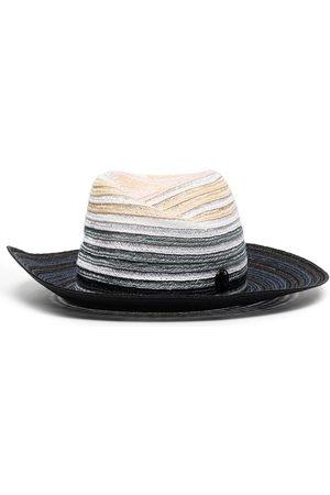 Maison Michel Gradient-effect fedora hat