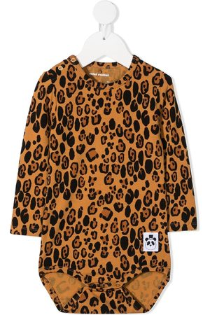 Mini Rodini Body mit Leoparden-Print