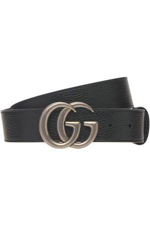 "Gucci 4cm Breiter Ledergürtel ""gg Marmont"""