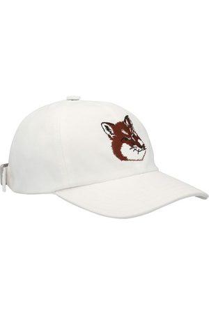 Maison Kitsuné Damen Hüte - Besticktes Cap Fox Head
