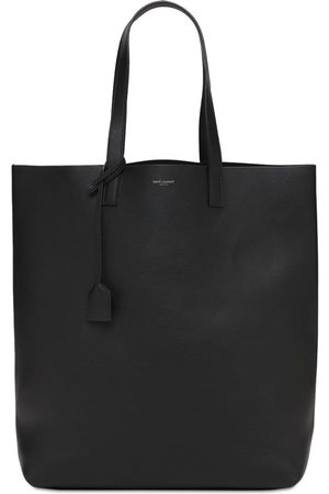 SAINT LAURENT Shopper Aus Leder Mit Logo