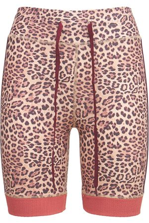 The Upside Damen Shorts - Shorts Mit Leopardendruck