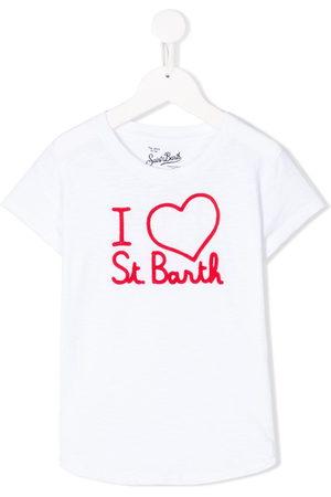 Mc2 Saint Barth Kids Mädchen Shirts - T-Shirt mit Logo-Print