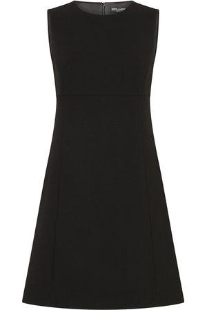 Dolce & Gabbana A-line wool minidress