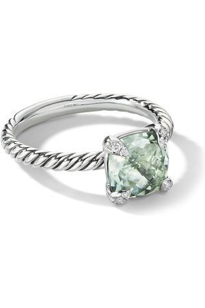 David Yurman Damen Ringe - Chatelaine Ring mit Prasiolith und Diamanten