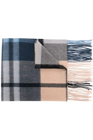 MULBERRY Schals - Small-check lambswool scarf 30 x 200 - Mehrfarbig