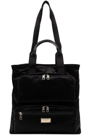 Dolce & Gabbana Zip-pocket tote bag