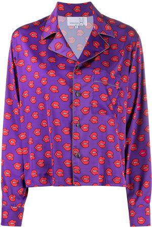 Natasha Zinko Damen Schlafanzüge - Pyjama-Oberteil mit Print