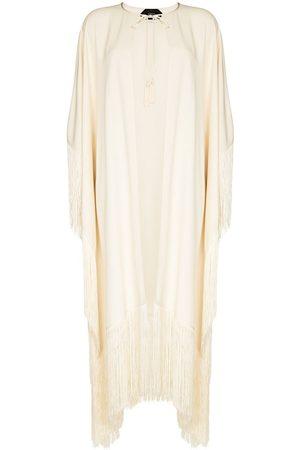 Taller Marmo Damen Tuniken - Tunika mit Fransen - Nude