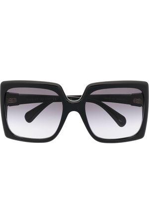 Gucci Eyewear Eckige Sonnenbrille mit GG