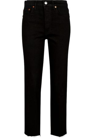 Re/Done Damen Slim - High-Rise Slim Jeans Stove Pipe
