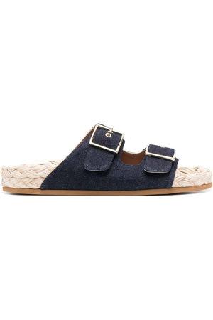L'Autre Chose Denim espadrille sandals