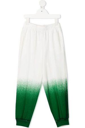 Weekend House Kids Gradient-effect track trousers