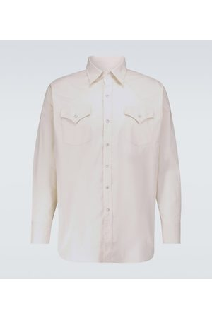 WINNIE N.Y.C Damen Blusen - Westernhemd Baumwolle