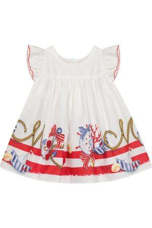 MONNALISA Baby Kleider - Baby Kleid aus Baumwolle