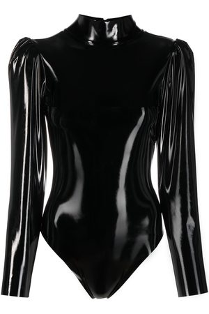 Alchemy Damen Bodys - Body aus Faux Leder