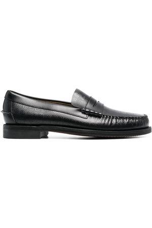 10 CORSO COMO Sebago circle-pattern loafers