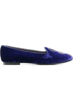 10 CORSO COMO X Castaner Zainab velvet slippers