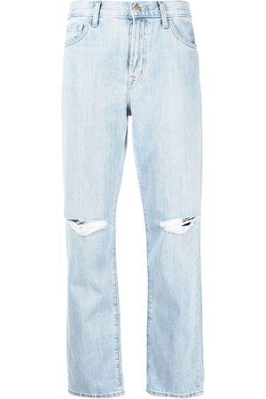 J Brand Damen Straight - Gerade Jeans mit hohem Bund