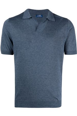 Barba Herren T-Shirts - Kurzärmeliges Poloshirt