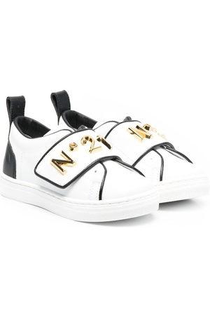 Nº21 Kids Sneakers mit Klettverschluss