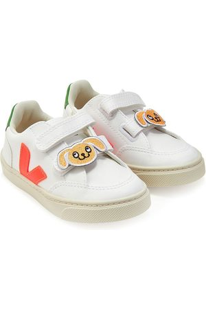 Veja Kids Touch-strap low-top trainers