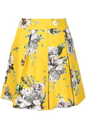 Erdem Shorts mit Blumen-Print