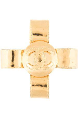 CHANEL 1997 Brosche mit Kreuz