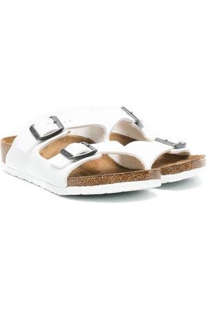 Birkenstock Kids Arizona leather sandals