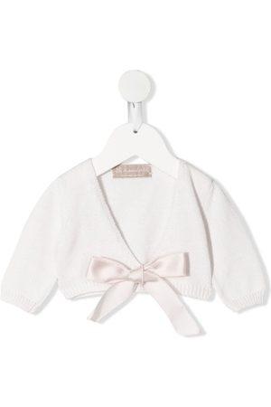 LA STUPENDERIA Bow-detail cardigan